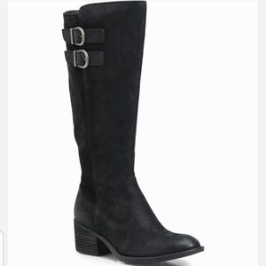 NWOB Born Distressed Suede Riding Boots